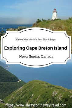 Canada travel destinations: Cape Breton is known to be one of the world best road trips and places to live. Here are some highlights of this road trip. East Coast Travel, East Coast Road Trip, Us Travel Destinations, Places To Travel, Canada Travel, Travel Usa, Montreal, Nova Scotia Travel, Toronto