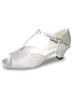 0775aa19cc ADUO Ballroom Dance Shoes, Latin Dance Shoes, Silver Shoes, Hologram, Dance  Wear