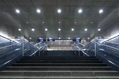 Terreiro do Paço Metro Station / Artur Rosa / Lisbon PT Photography by Francisco Nogueira / www.francisconogu... #architecture #arturrosa #subway #lisbon #portugal #photography #metro