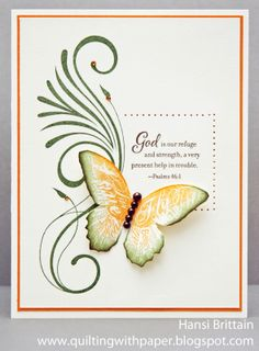 Find Your Style SS, Topiary and Goldrush card by Hansi Brittain (change sentiment)