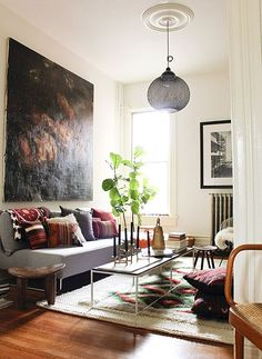 Attractive Inspiration Bohemian Couch. Bohemian interior decorating can combine a few styles  creating beautiful and luxurious room de Crazy living tendencies this month Get relaxed in among