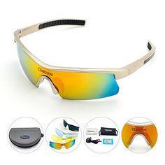0052fdfa4fb Cycloving Men Women Polarized Sports Sunglasses UV Protection Glasses for  Cycling Driving Fishing   Read more
