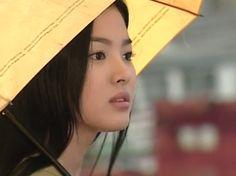 Autumn Tale (korean drama): A favorite scene when she turns around! Autumn Tale, Autumn In My Heart, Song Seung Heon, Heart Songs, Autumn Fairy, Birth Mother, Song Hye Kyo, Endless Love, Korean Entertainment