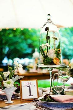 Truly beautiful centerpieces
