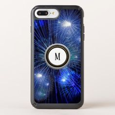 fireworks light festival blue fashion speck iPhone case - blue gifts style giftidea diy cyo