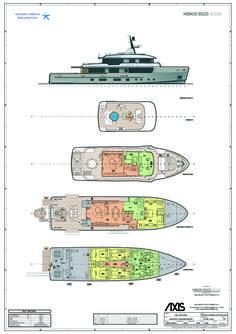 YACHT DESIGN - PROGETTAZIONE NAUTICA: ARCANA YACHT - HORACIO BOZZO DESIGN