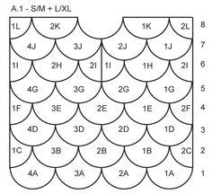 """Scallop - Jersey de punto DROPS en punto musgo con patrón de abanicos en """"Delight"""". Talla: S - XXXL. - Free pattern by DROPS Design"""