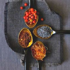 spices~ smell good