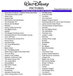 A printable Disney movies list is available for die-hard Disney fans. The checklist includes more than 400 movies from the last 81 years! Romantic Movies On Netflix, Netflix Movies To Watch, Romantic Movie Quotes, Movie To Watch List, Disney Movie Quotes, Movie List, Disney Movies, The Rescuers Down Under, Marathons