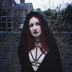 Goth started as a subculture where people were making their own clothes to create their own style. Now because the style became popular, people have started highly successful brands that make reall… Clothing Blogs, Outfit Posts, Hair Ideas, Evening Dresses, Lingerie, Style Inspiration, Outfits, Clothes, Women