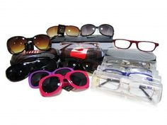 Sunglasses and Spectacle Cases