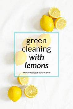 DIY green cleaning w