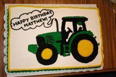 John Deere Tractor Cake | John