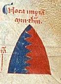 William De Braose 10th Baron Abergavenny | Arms attributed to William de Braose (d.1230) by Matthew Paris : Party ...