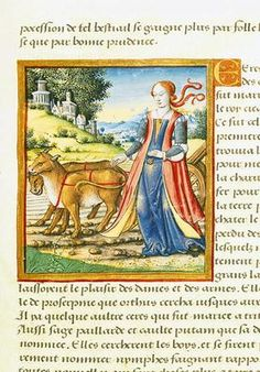 Ms 17 Ceres, from 'Vie des Femmes Celebres', c.1505 | Social Studies, The Arts | Image | PBS LearningMedia