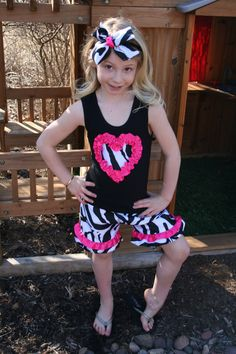 Girls Zebra Pajamas / Pajamas for Girls / Animal Print ...