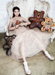 Antonina Vasylchenko - Vogue Russia December 2012