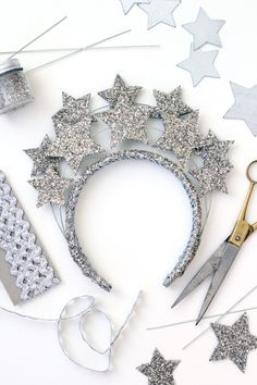 New Year's Eve star crown - The House That Lars Built