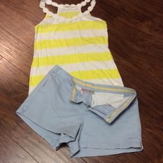 """AEROPOSTALE SKY BLUE SHORTS Baby blue shorts by AEROPOSTALE in gently used condition.. No size inside but WAIST MEASURES 30"""" Aeropostale Dresses"""