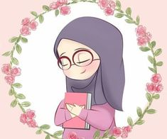 Discovered by غم في عشق ✨. Find images and videos about girl, draw and hijab on We Heart It - the app to get lost in what you love. Cool Anime Girl, Anime Art Girl, Doodle Cartoon, Cute Cartoon, Art Magazin, Islamic Cartoon, Anime Muslim, Hijab Cartoon, Islamic Girl