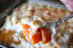 Team Traeger   Traeger Thanksgiving: Simple Candied Yams with Caramel Sauce