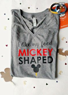 A great shirt to wear when I am eating my Mickey shaped pretzel!