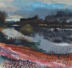 Thames frost. Cliveden. Taplow afternoon. December 2010 in KURT JACKSON from The Redfern Gallery