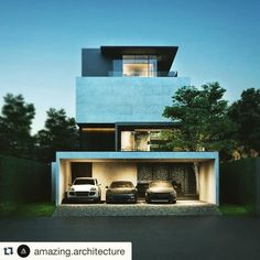 #Repost @amazing.architecture with @repostapp.  Modern small house designed in great detail! Check out @frank.arc_ for see more inspirational architecture! .  Modern House / Private Residence by BHX Architects #thailand .  see more: http://ift.tt/1BfEixD [  200k ] . #amazingarchitecture #architect #architecture#contemporary #arquitetura #facade #sketchup #sketchup3d #sketchup2016 #3ds #3dworld #vray #vrayrender #design #exterior #exteriordesign  #vrayforsketchup #concrete #structure…
