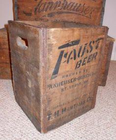 Faust beer crate
