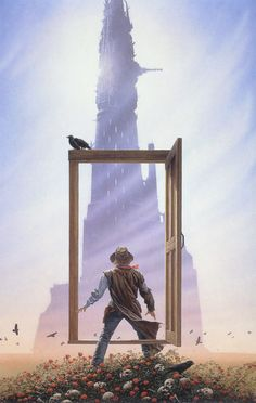 illustration out of Stephen King's Dark Tower series ~ the portal door ~ Michael Whelan - Bing Images