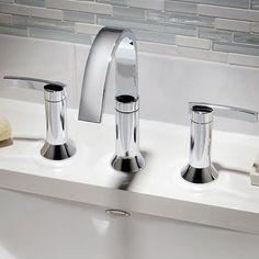 American Standard Berwick 7430.801 Widespread Bathroom Sink Faucet | from hayneedle.com