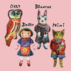 Nathalie Lete dolls