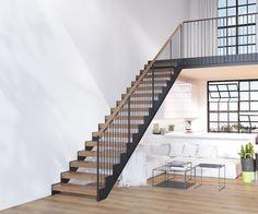 Grado Loft stairs by Grado Design Oy www.grado.fi