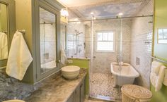 Blue Skies Wet Room - 50 Best Wet Room Design Ideas | http://homebnc.com/best-wet-room-design-ideas/2/ | #wet #room #bathroom #ideas #decor #decoration #home #design #homedecor #beautiful #creative #homebnc