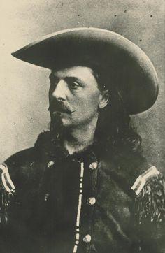 15056d81bae William F Cody at Fort Ellsworth. Kansas Historical Society