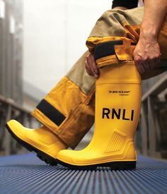 Help protect #RNLI lifeboat crew with a lifesaving gift – the RNLI sea boots - £42.00
