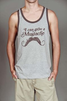 Fact: This tank top is funny. Fact: This tank top is untrue for 75% of the Seltzer-ers. #sadpanda