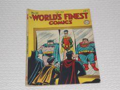 Worlds-Finest-32-Comic-1948-Batman-Superman-Green-Arrow-Robin-Bob-Kane