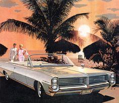 1964 Pontiac Bonneville Convertible - 'Barbados Sunset': Art Fitzpatrick and Van Kaufman