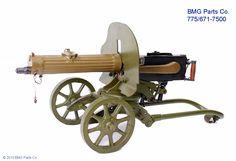 Russian/Soviet Maxim M1910 heavy machine gun