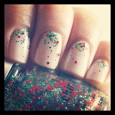 Holiday Nail Art #VieletLovesInstagram