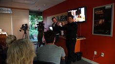 HUGE thanks to Panasonic's Gregger Jones and Rajesh Lad for a fun and casual presentation on the VariCam LT! Wine, cheese, and a great night was had by all! The special rental introduction rate of $425/day on the VariCam LT ends on September 30th so don't miss out! Contact us at answers@rule.com or 800-rule-com! Pics are up on our Facebook page:  https://www.facebook.com/RuleBostonCamera/photos/?tab=album&album_id=10154974612593797