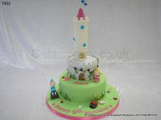 Ben and Holly's Little Kingdom Cake http://www.cakescrazy.co.uk/details/ben-and-hollys-little-kingdom-cake-7432.html