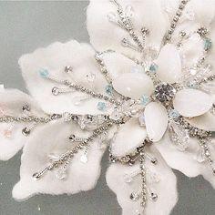 HAPPY EASTER! Sneak peek. Handmade detailing. Azzaria Haute Couture by Zara xx…
