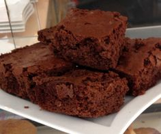 Unlike some gluten free recipes, these brownies are delicious and moist. In fact most people don't even realize that they're gluten free!