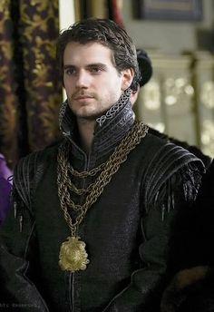 Henry Cavill as Charles Brandon in 'The Tudors'
