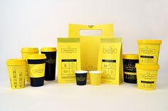 """Demitasse Creamery"" Identity + Packaging on Behance"