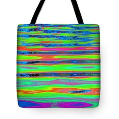 Ripples and reflection Seven Tote Bag by Expressionistar Priscilla-Batzell
