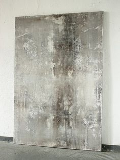 2016 - 130 x 9 0 cm - Acrylic on Canvas, Abstract, Art, Painting, Canvas - malerei - Kunst Contemporary Abstract Art, Modern Art, Abstract Canvas Art, Painting Canvas, Acrylic Art, Grey Canvas Art, Grey Art, Painting Abstract, Painting Inspiration