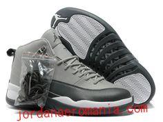 f4415ebf1bfb Acheter Chaussures Air Jordan 12 Cool Gris/Noir/Blanc  JordanAeroMania.com  Cheap